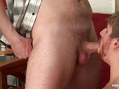 Hungry Dudes Exchange Nice Blowjobs 1