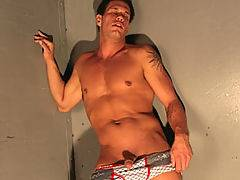 Chad has a nice tight ass and loves it when spurt drips all Over it