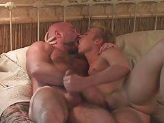Hairy Daddy And Young Lad Warm Each Other Up 2