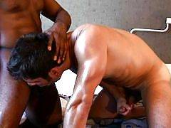 Gay muscle men have guy on guy man sex with other muscle guys in hot gay porn. Muscle boys have gay sex with straight, which is caught on hot gay vids ad gay pics, gay muscle at its best on HotMuscleDudes.com.