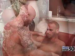 Tattooed Dude Eagers To Get Drilled 3