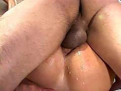 These horny gay guys like a raw and they like it barebacked. See these lubed up asses take a bare cock inside their tight assholes. These guys dont need condoms to have fun, they just fuck in some promiscuous sex and throw caution to the wind. Sexy gay an