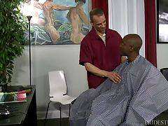 BARBER SHOP SEX PART 1