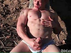Adam Hardy Gets Horny At The Beach 2